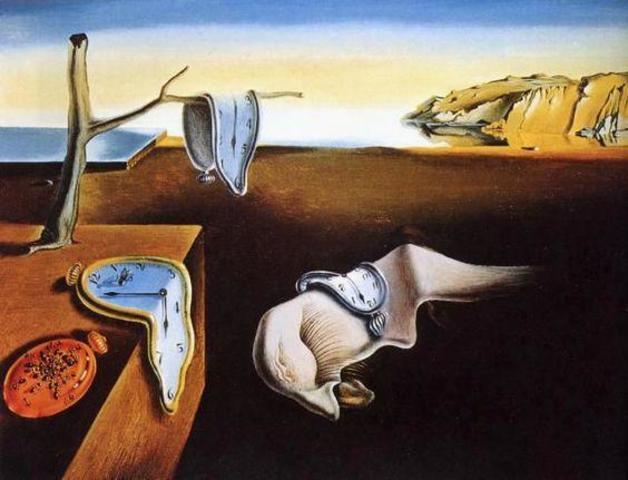 La persistencia de la memoria (Dalí)