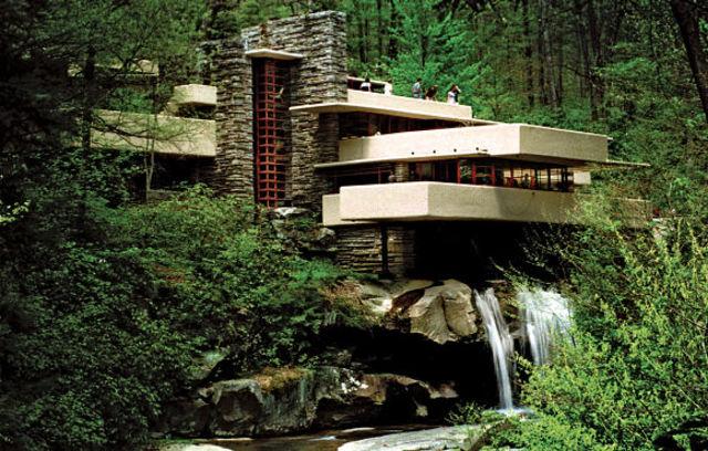 La casa de la cascada (Lloyd Wright)