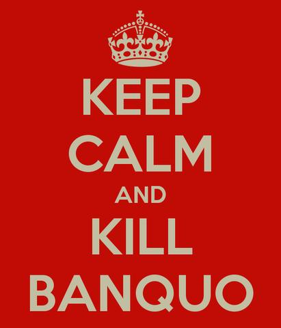 Macbeth plans and kills Banquo