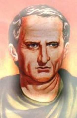 Marco Tulio Cicerón, elección de profesión