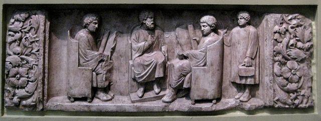"""El """"Ludus litterarius"""", educación en la antigua Roma"""