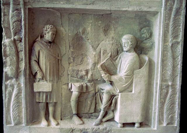 Ludus grammaticus, segunda etapa educativa en la Antigua Roma