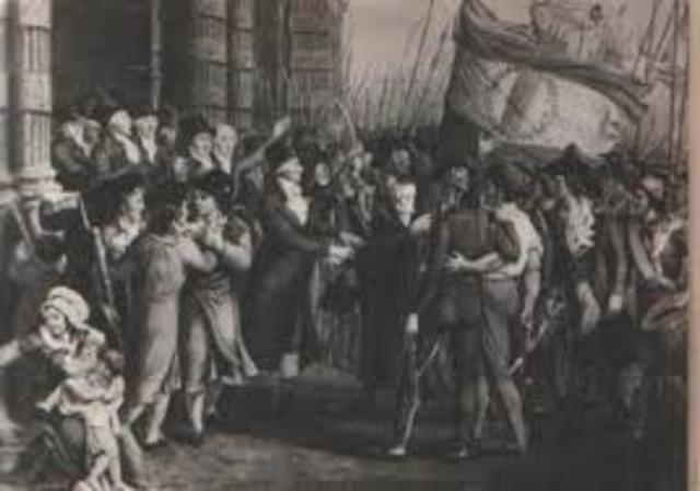 arresto dei capi girondini