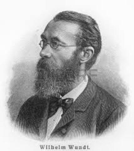 Muerte de Wilhem Maximilian Wundt.