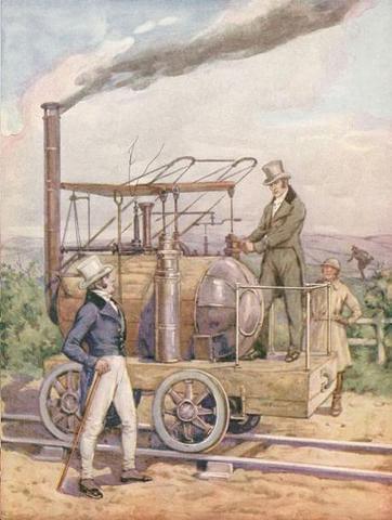 ''George Stephenson'' steam locomotive