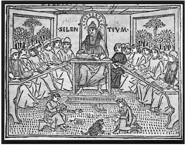 Época de la Reforma: Inicio de la corriente humanista, oposición a la educación eclesiástica - religiosa