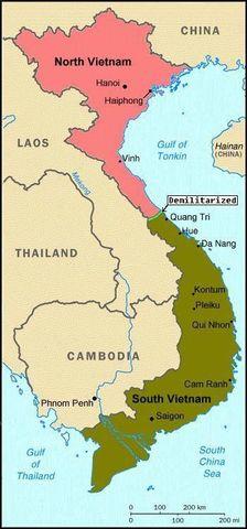 Se divide vietnam