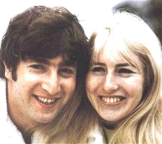 John's first marriage with Cynthia Powell