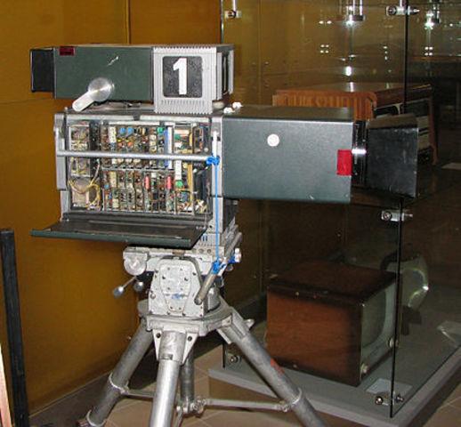 Primera camara de video