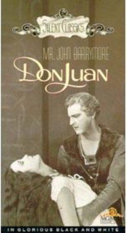 """Primera película sonora """"Don Juan"""""""