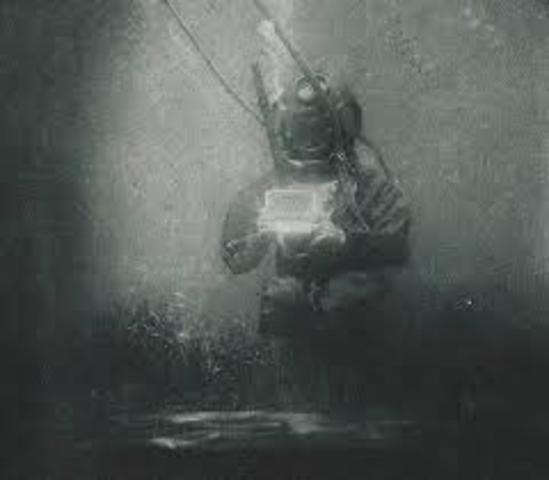 Primer fotografía Submarina