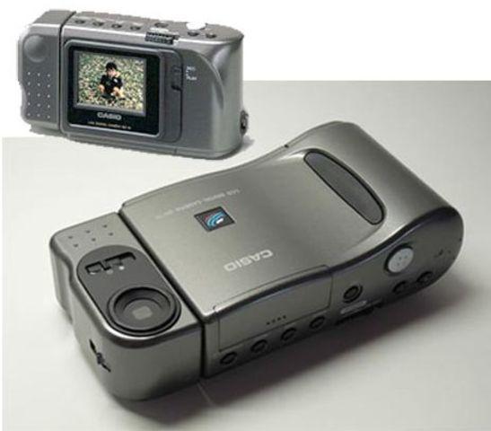 Primera cámara con pantalla incorporada