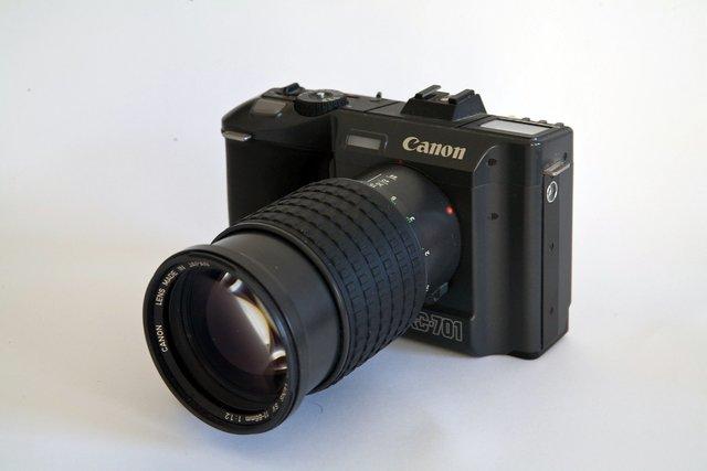 CANON RC-701. (1986)