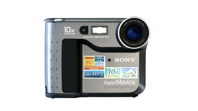 CAMARA Sony Mavica MVC-FD5/FD7