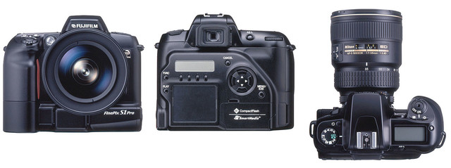 CAMARA Fujifilm Finepix S1 Pro