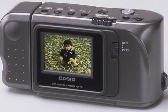 Primera camara digital con pantalla