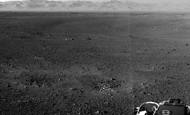 Primeras fotografias electronicas de Marte