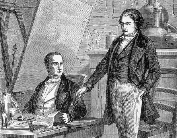 Nicéphore Niépce y Daguerre