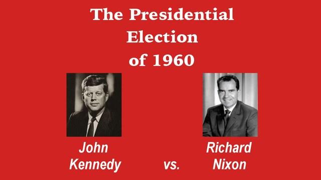 Nixon and Kennedy