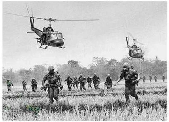 Guerra de Vietnam:Confrontación militar en Vietnam