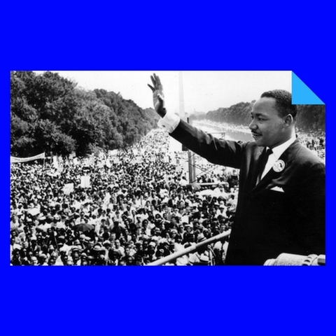 """""""I have a dream"""" (M. Luther King)"""