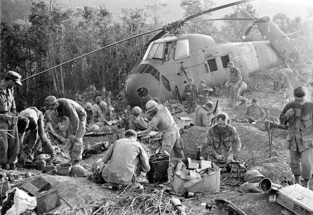 Guerra de Vietnam:Retirada de estados unidos