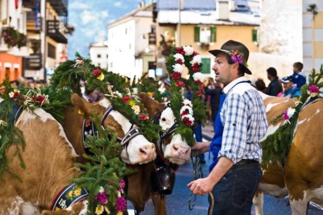La Desmontegada de le Vache e Festival del Gusto