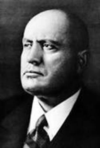 Mussolini is born