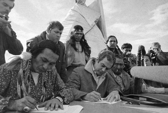 Occupation of Wounded Knee by Oglala Sioux