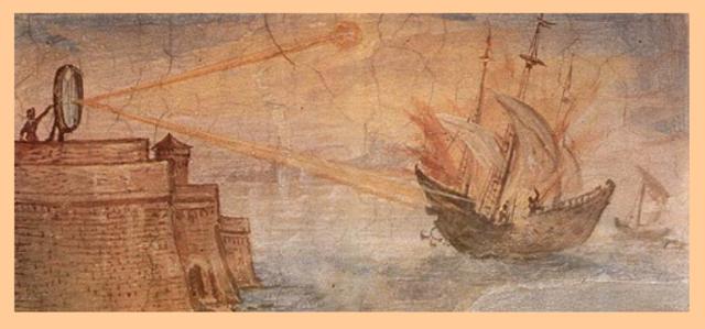 El Rayo de Calor de Arquimedes