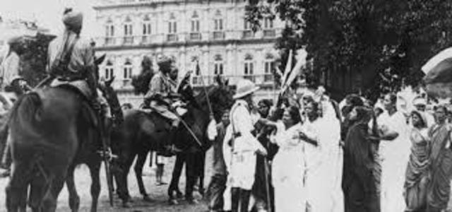 Tagore en el partido nacionalista del congreso