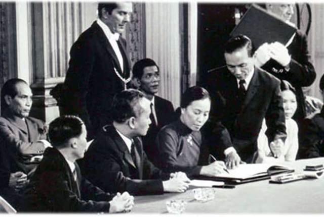 Guerra de Vietnam:Cese al fuego