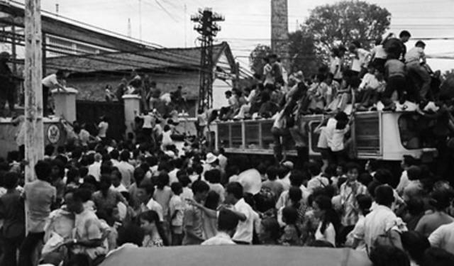 Guerra de Vietnam:Retirada total del combate