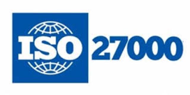 """SERIE DE NORMAS """"27000"""" ISO-IEC"""