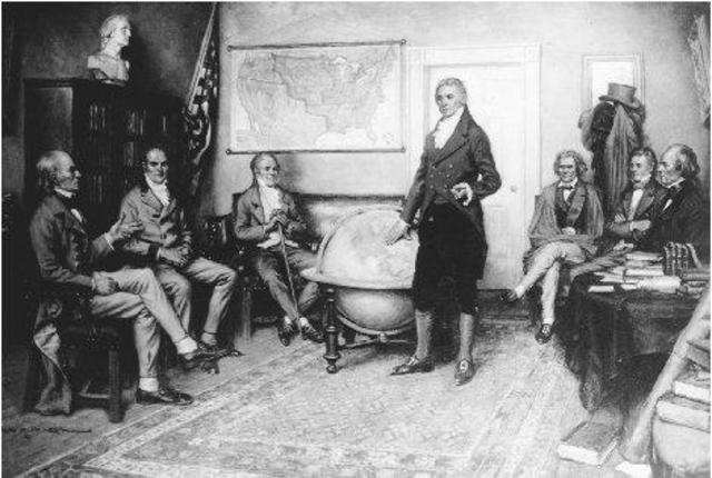 Monroe Doctrine Proclaimed