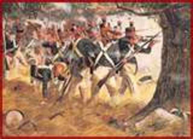 War of 1812 ends