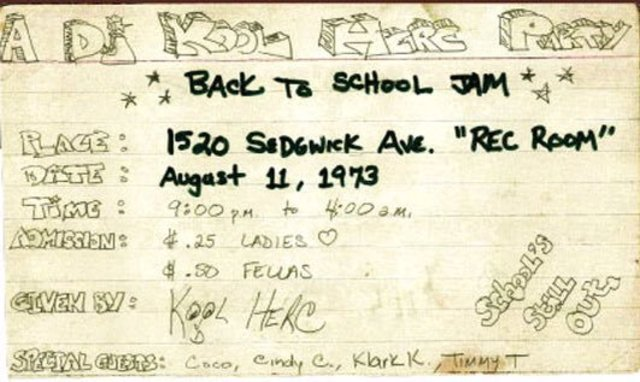 The Day Hip Hop was Born: The Break is Created