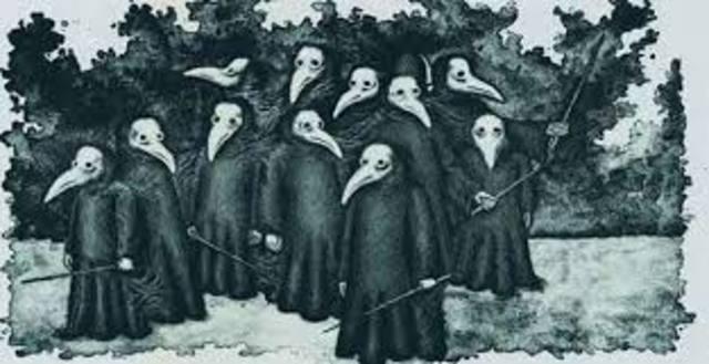La Peste Negra (1348-1350 d.C)