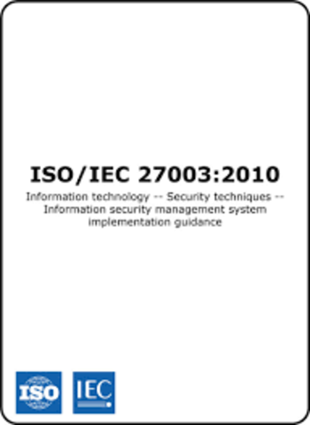 Norma ISO/IEC 27003