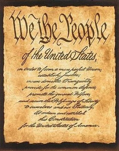 Constitution is approved & George Washington is elected president