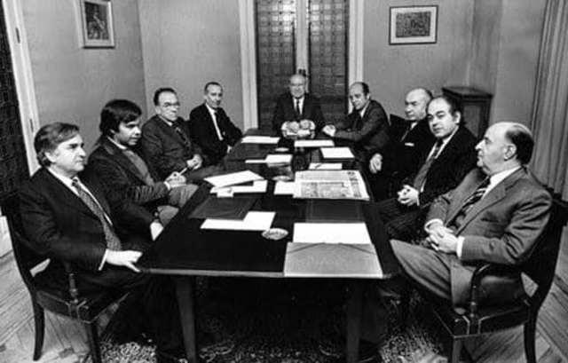 Creación Coordinación Democrática (Platajunta)