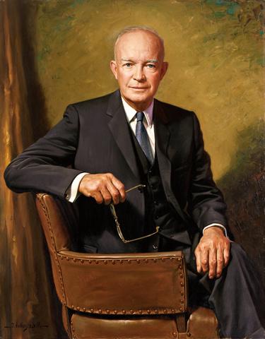 Guerra de Corea:Presidente de E.E.U.U Dwight Eisenhower