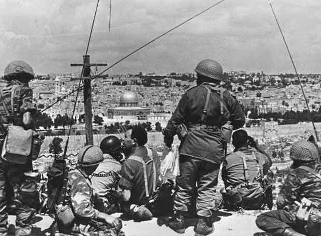 Conflicto Árabe Israelí:Guerra de los seis días
