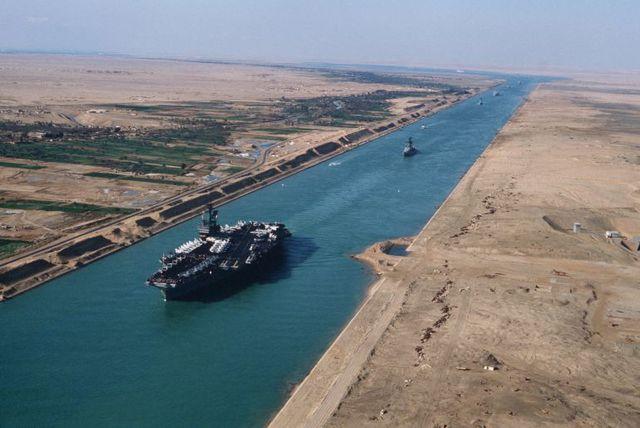 Conflicto Árabe Israelí:Re-abrimiento del canal de Suez