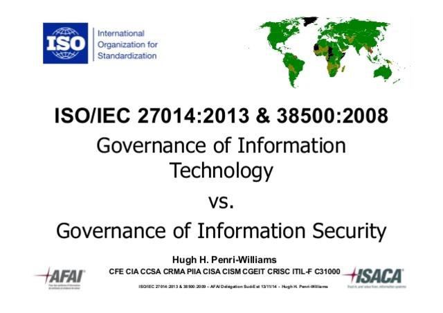 Norma ISO/IEC 27014
