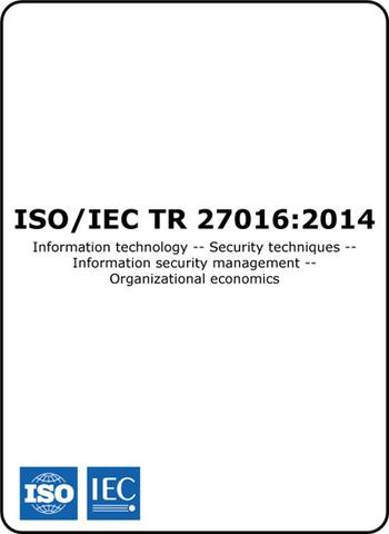 Norma ISO/IEC TR 27016