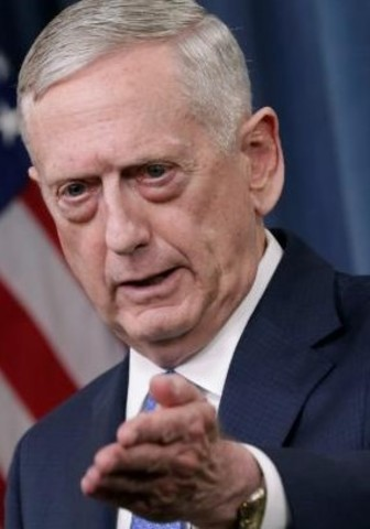 Mattis states that the United States is working with the international community to put North Korea under control
