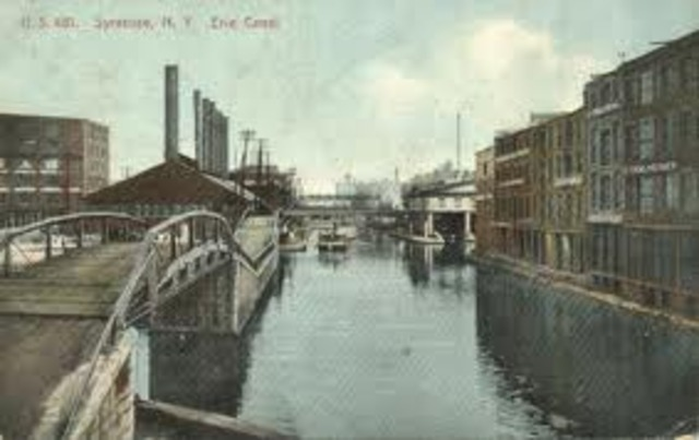 The Erie Canal is Finished