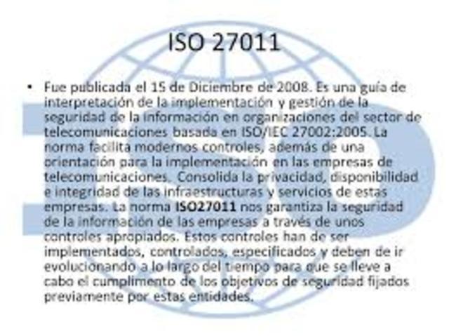 ISO/IEC 27011 -