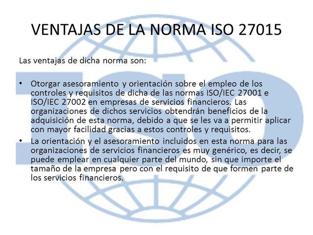ISO/IEC 27015
